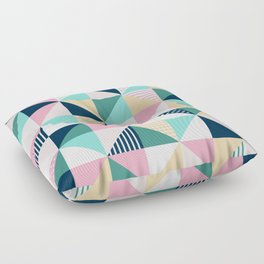 Braided tape Floor Pillow