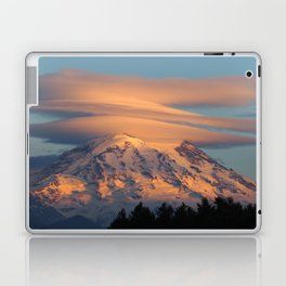 Mount Rainier in November Laptop & iPad Skin