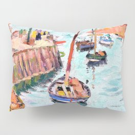 The Harbour at Lower Largo - Digital Remastered Edition Pillow Sham