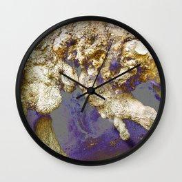 Oak Spirits Wall Clock