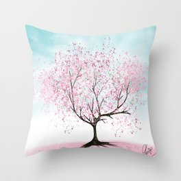 Healing The Land Throw Pillow