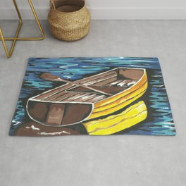 Boat Reflections Rug