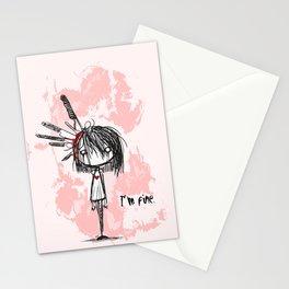 I'm Fine Stationery Cards