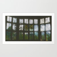 window Art Prints featuring Window by Aaron Carberry