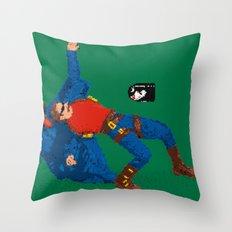 Itsa Me, Neo Throw Pillow