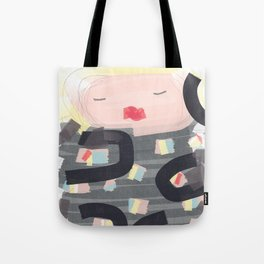 Be a doll - Vindi Vindaloo Design Tote Bag