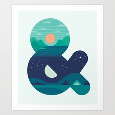 Day & Night Art Print