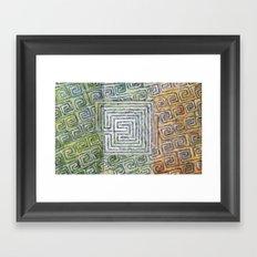 Síocháin (Peace) Framed Art Print
