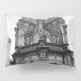 Gothic French Architecture Pillow Sham