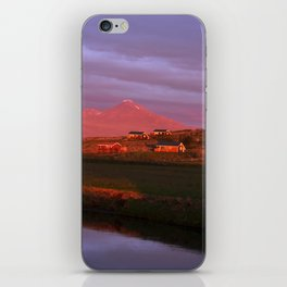 Midnight Sun II. iPhone Skin