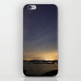 Starry City of Lights iPhone Skin