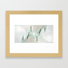Saving My Soul Framed Art Print