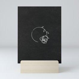 For How Long || Rose Mini Art Print