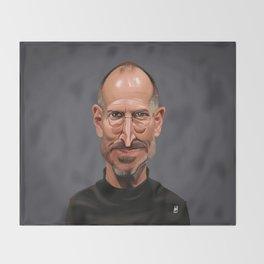 Celebrity Sunday ~ Steve Jobs Throw Blanket