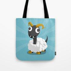 The Dino-zoo: Sheep-saurus Tote Bag