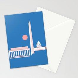 Washington D.C. City Print Stationery Cards