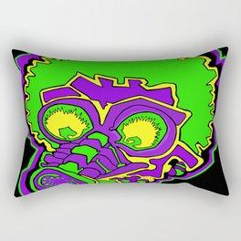 Other Worlds: Gas Masked Rectangular Pillow