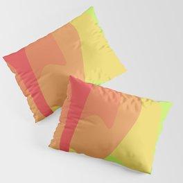 Dripping Circles Pillow Sham