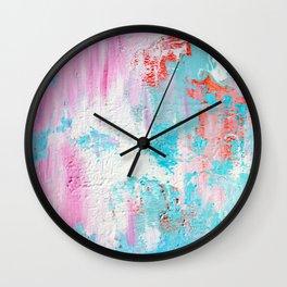 abstract blobs Wall Clock