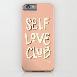 Self Love Club – Blush & Gold Palette iPhone Case