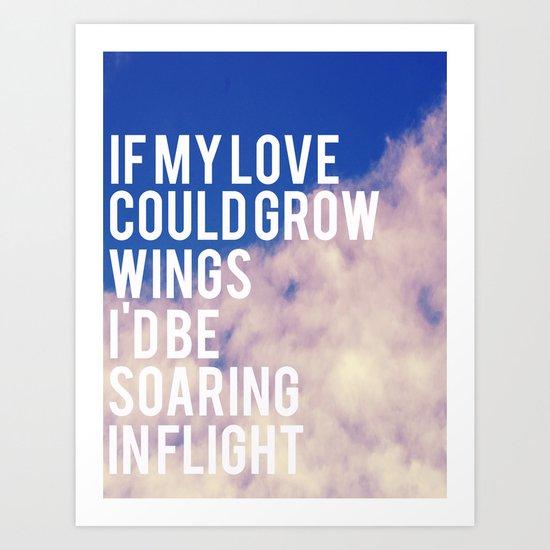 If My Love  Art Print