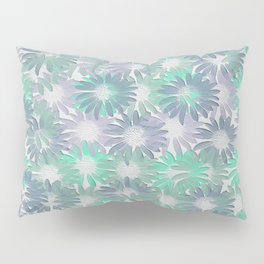 Painterly Embossed Floral Absract Pillow Sham