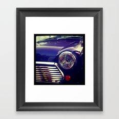Classic Mini Equinox. Framed Art Print