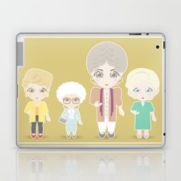 Girls in their Golden Years Laptop & iPad Skin