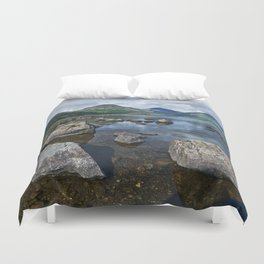 Wastwater English Lake District Duvet Cover