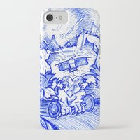 valentine iPhone & iPod Cases featuring Valentine by Alexandra Ensign
