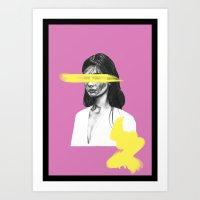 Colour Strokes No. 1 Art Print