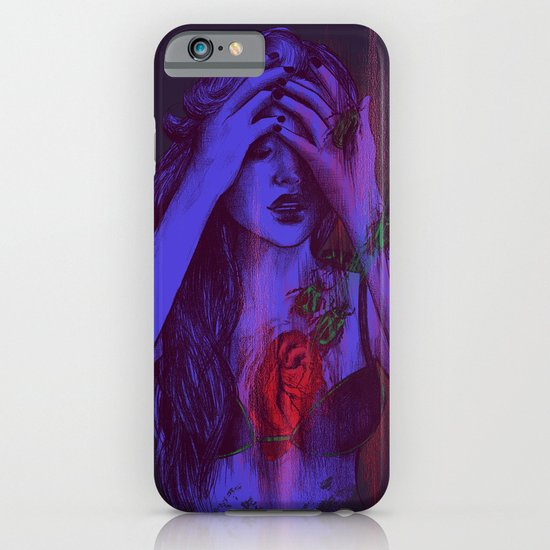 THE HEART SCARAB iPhone & iPod Case