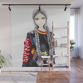 anime girl Wall Mural