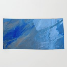 Blue Blue Beach Towel