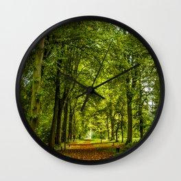 Woodland Pathway Wall Clock