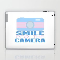 Smile For The Camera; Laptop & iPad Skin