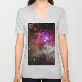 NGC 281 nebula with active star formation (NASA/Chandra) Unisex V-Neck