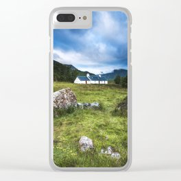 Cottage in Glencoe Clear iPhone Case