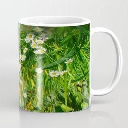Upside Down Daisies Coffee Mug
