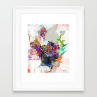 archan nair Framed Art Prints featuring Awake by Archan Nair