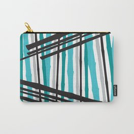 Jib Street Abstract Bamboo Carry-All Pouch
