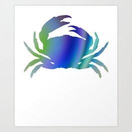 Crab 372 Art Print