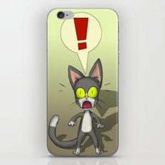 Suprised Tom Cat iPhone & iPod Skin