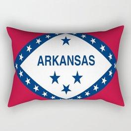 flag of arkansas-america,usa,The Natural State,Arkansan, Arkansawyer,Arkanite,Little Rock,Fort Smith Rectangular Pillow