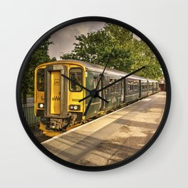 Exmouth Sprinter Wall Clock