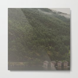 Fjords of Norway Metal Print