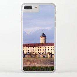 Festung Marienberg Clear iPhone Case