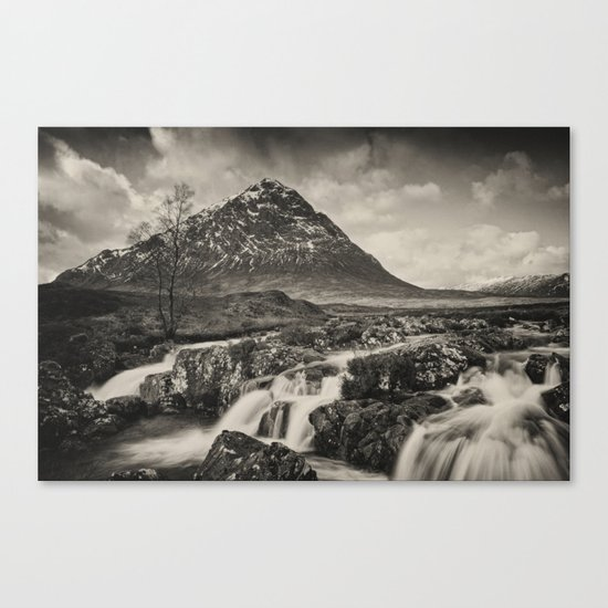 The Buachaille toned Canvas Print