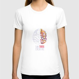 I am thinking Creative T-shirt