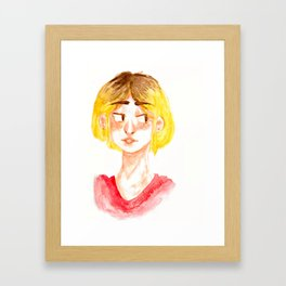 Haikyuu!! KENMA Framed Art Print